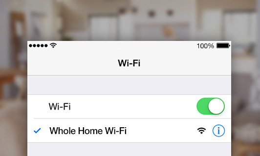 One SSID for the Whole Home
