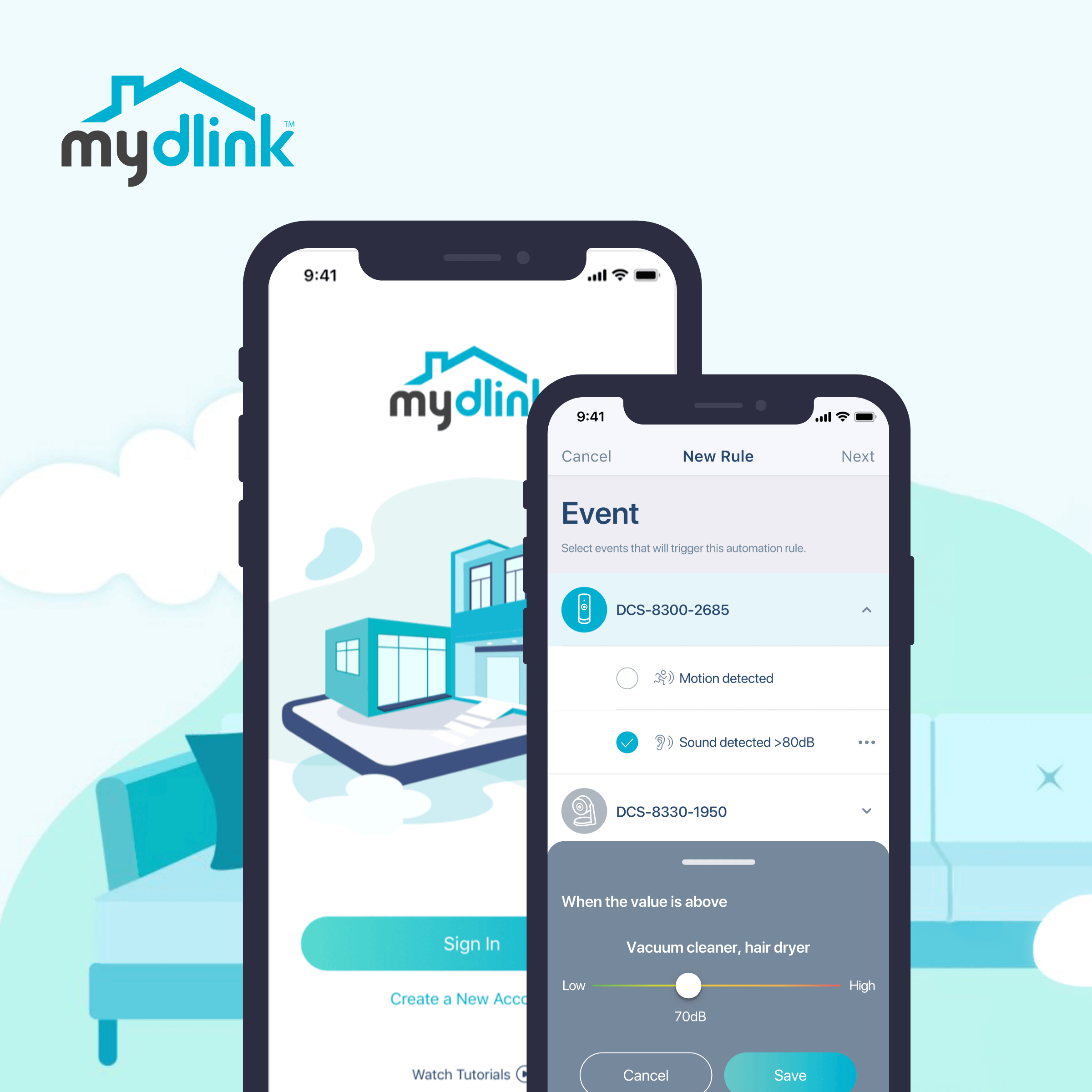 The mydlink APP Revamp